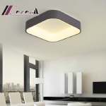 Nordic LED Fashion Personality Square Ceiling Lamps for Living Room