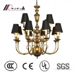 Modern Luxurious Adjustable Brass Chandlier for Cashier Counter