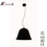 Modern Copper Matt Black Round Pendant Lamp for Dining Room