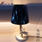 New Gun type base PK shade table lamp for reading